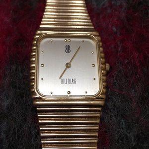 Vintage Bill Blass gold watch